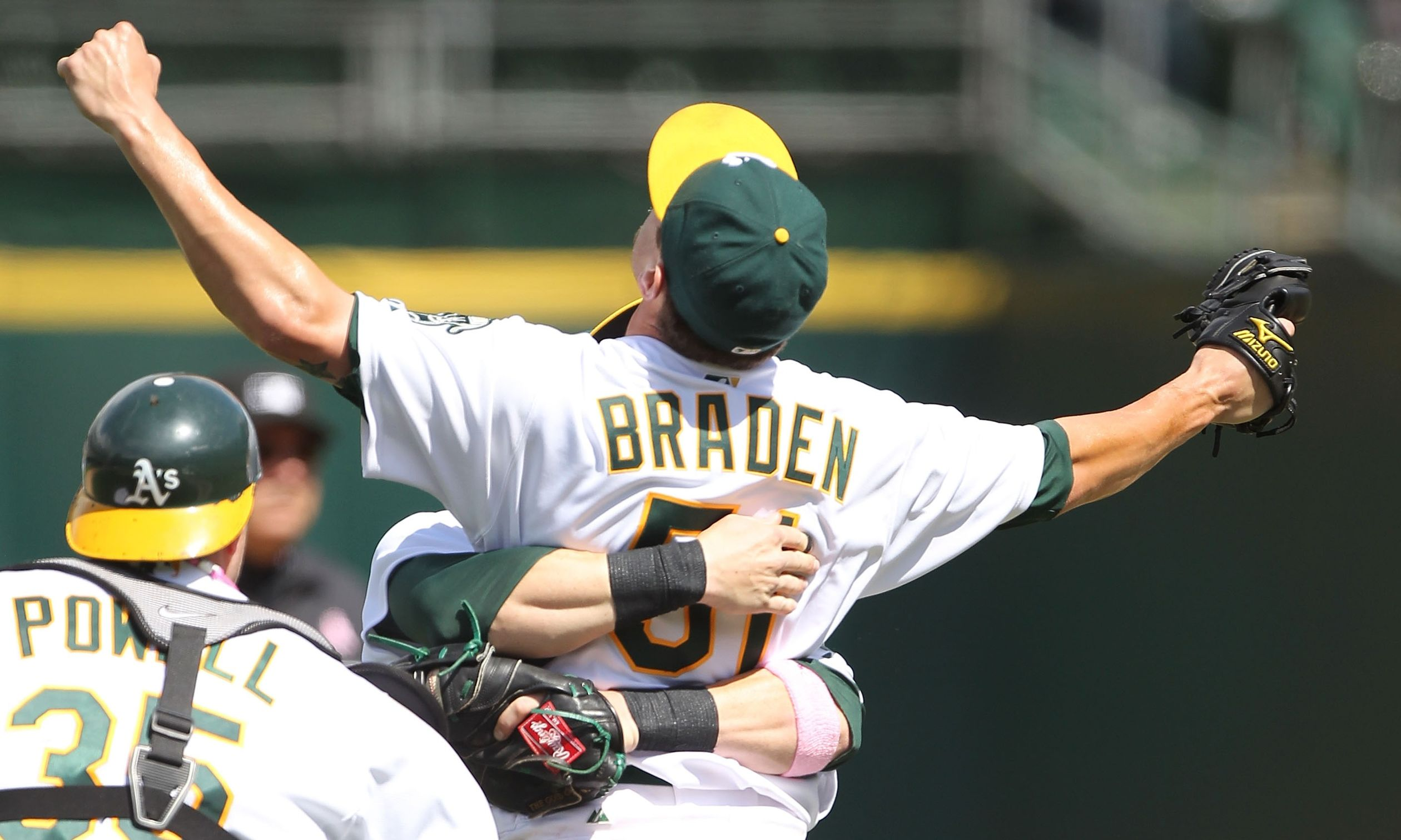 Dallas Braden: May 9 vs. Tampa Bay Rays
