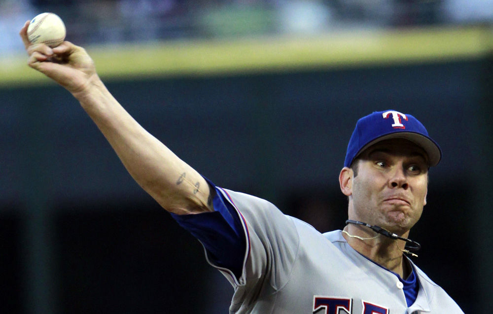 Colby Lewis, Rangers, May 16 (2nd)