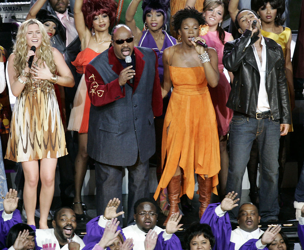 Joss Stone, Stevie Wonder, India.Arie and John Legend