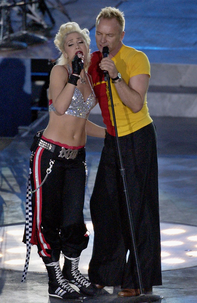 Gwen Stefani and Sting