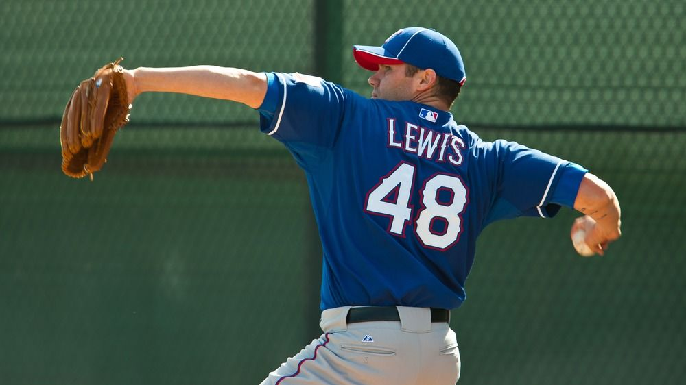 Colby Lewis, Rangers pitcher