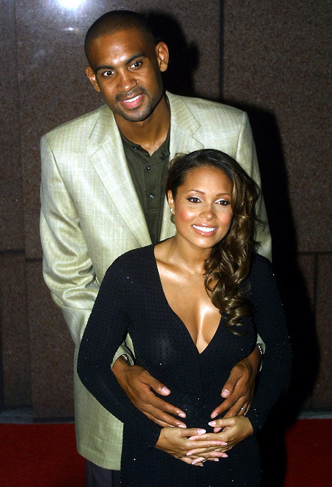 Grant Hill And Tamia 1999