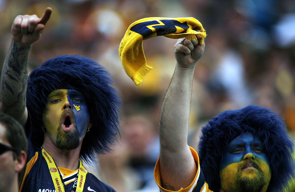 Wild And Crazy College Football Fans From Across The Nation Nbc Sports