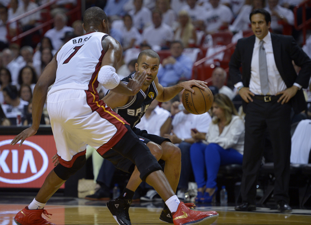 Game 1: Spurs 92, Heat 88