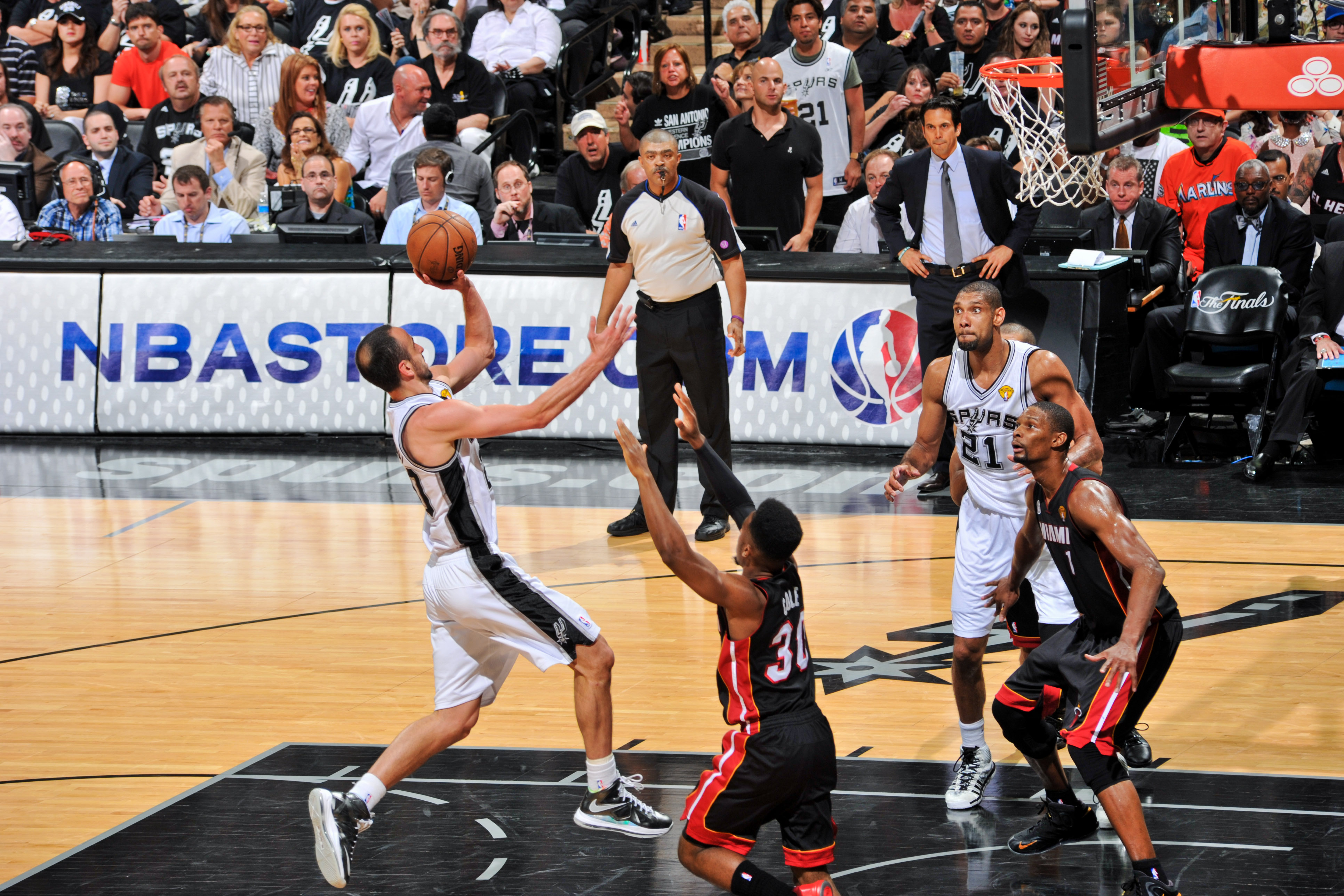 Game 5: Spurs 114, Heat 104