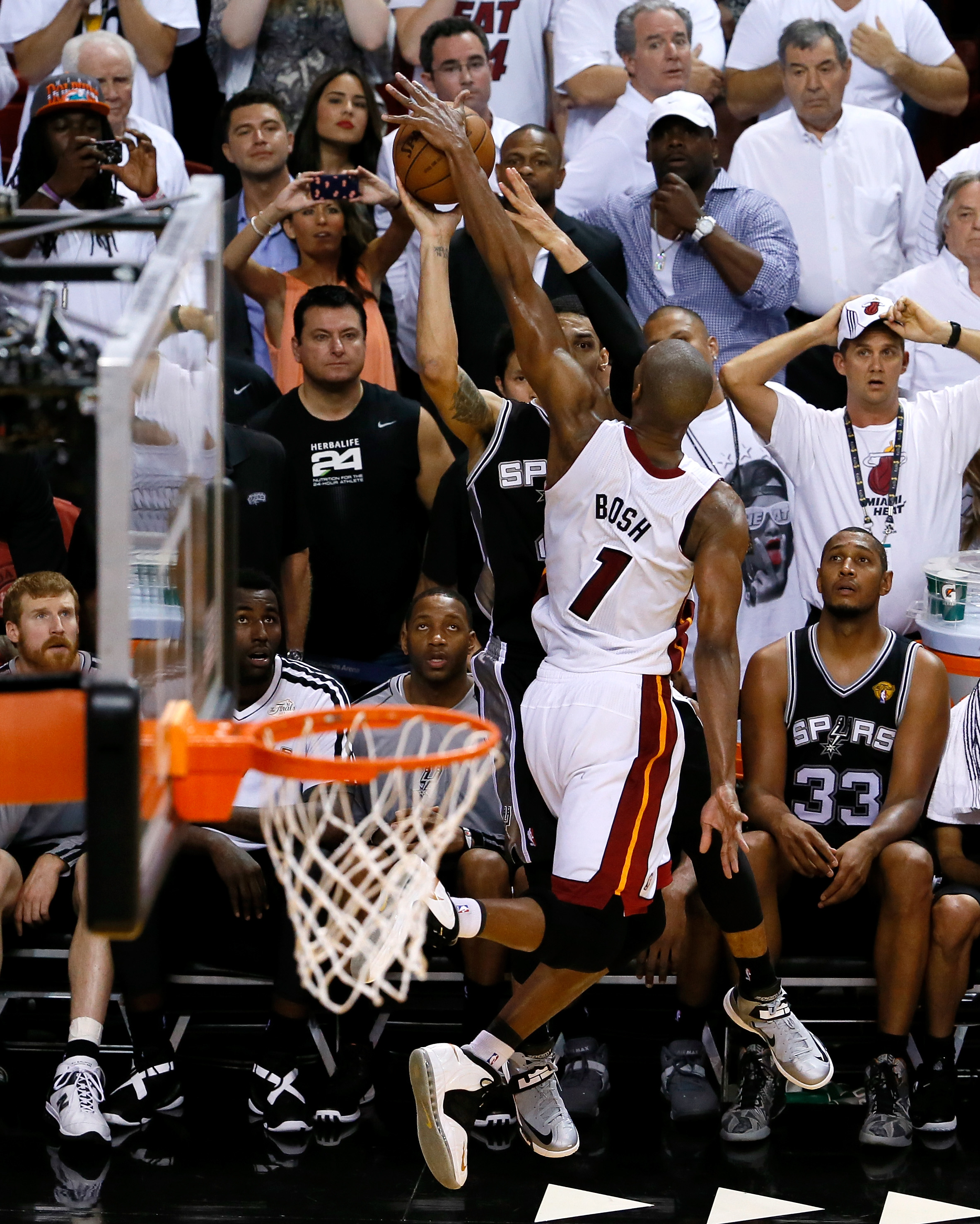 Game 6: Spurs 103, Heat 100