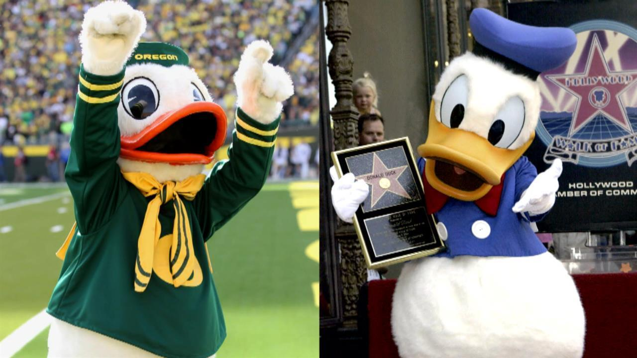 30 seconds to know is oregon s mascot donald duck nbc sports