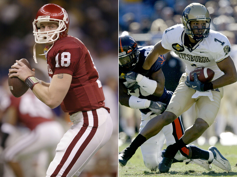 2003: Jason White over Larry Fitzgerald
