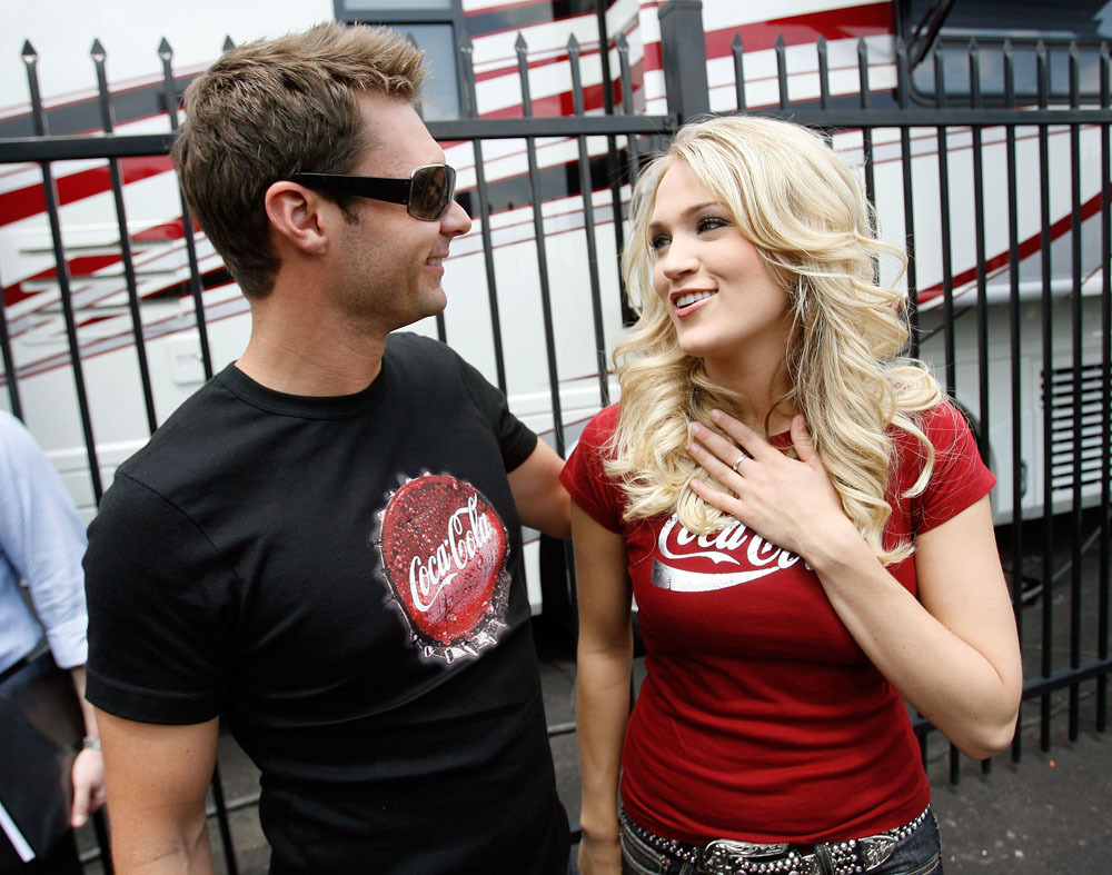 Ryan Seacrest and Carrie Underwood