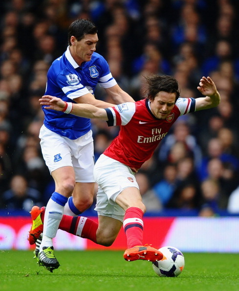 Everton 3, Arsenal 0