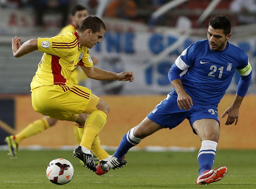 Greece 3, Romania 1
