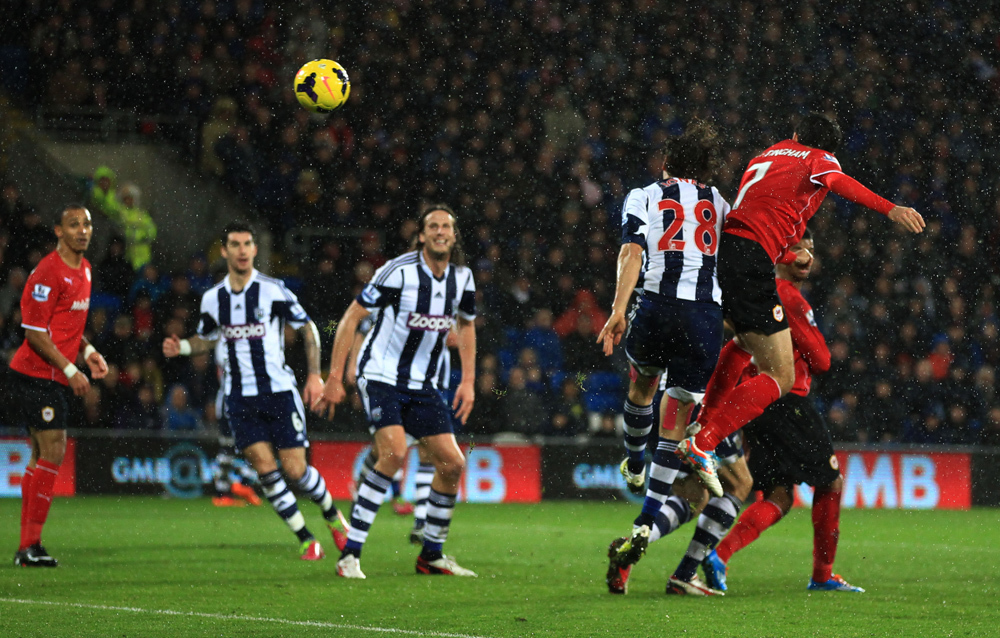 Cardiff City 1, West Bromwich Albion 0
