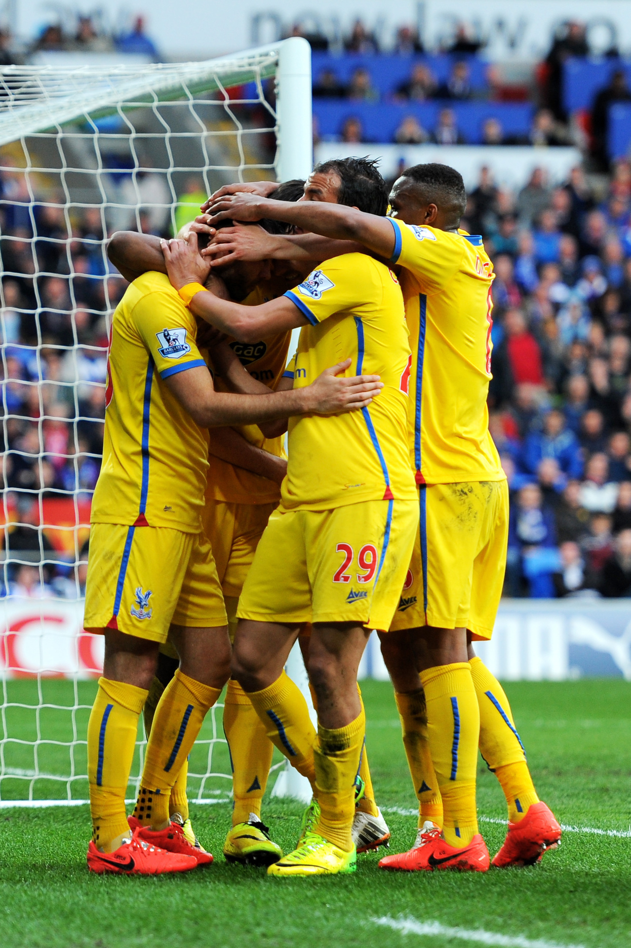 Crystal Palace 3, Cardiff City 0