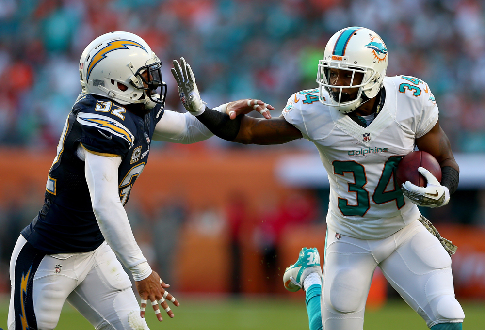 Dolphins 20, Chargers 16