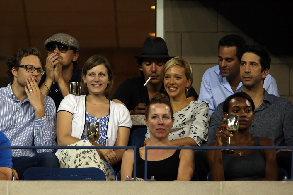 A few of Hollywood's finest take in the U.S. Open