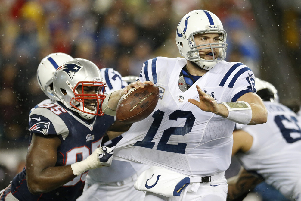 AFC divisional round: Patriots 43, Colts 22