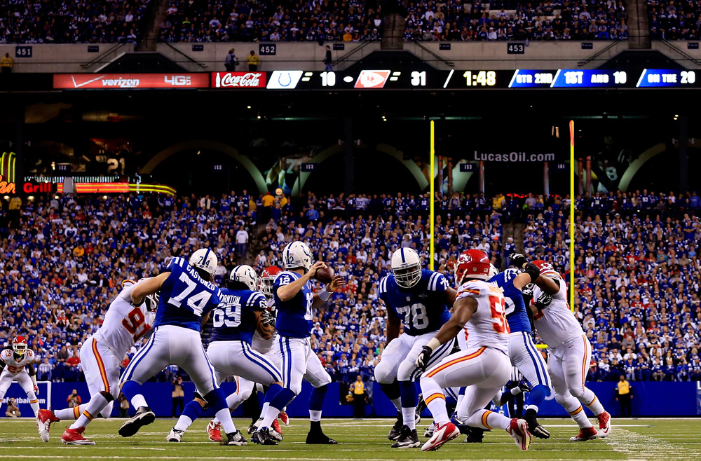 AFC Wild Card game: Colts 45, Chiefs 44