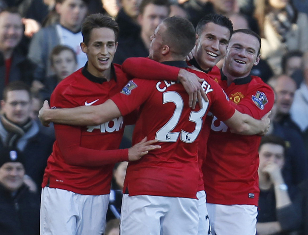 Manchester United 3, Fulham 1