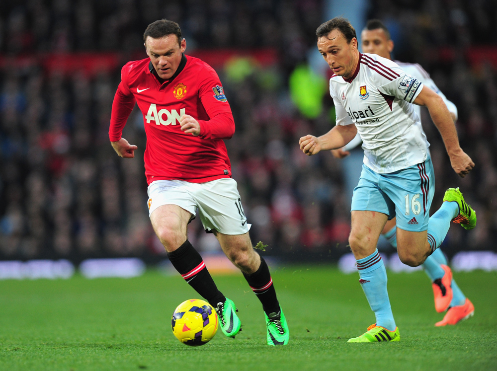 Manchester United 3, West Ham 1