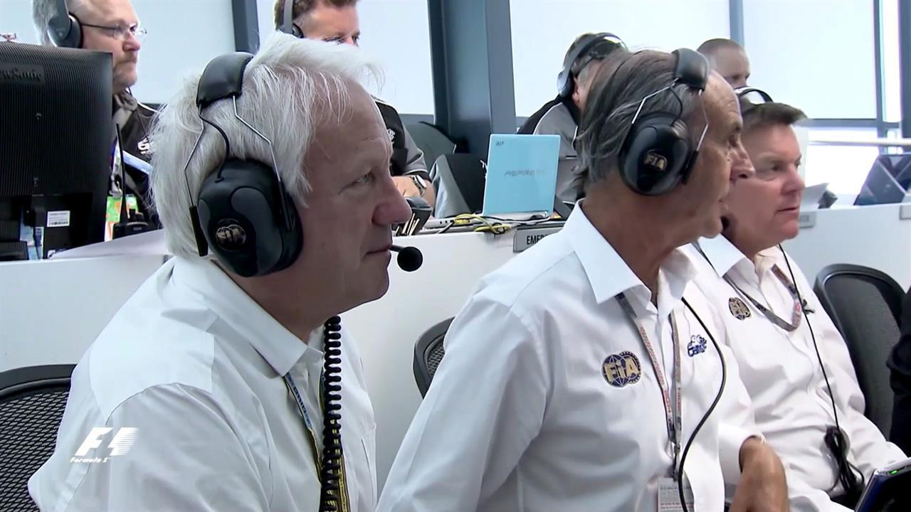 Charlie Whiting Twitter: Inside Race Control With Charlie Whiting