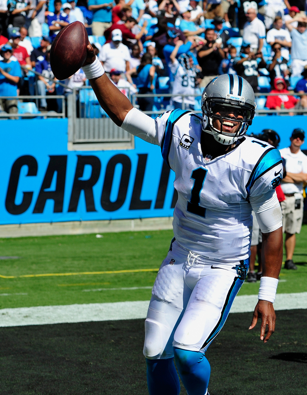 Carolina 38, New York 0