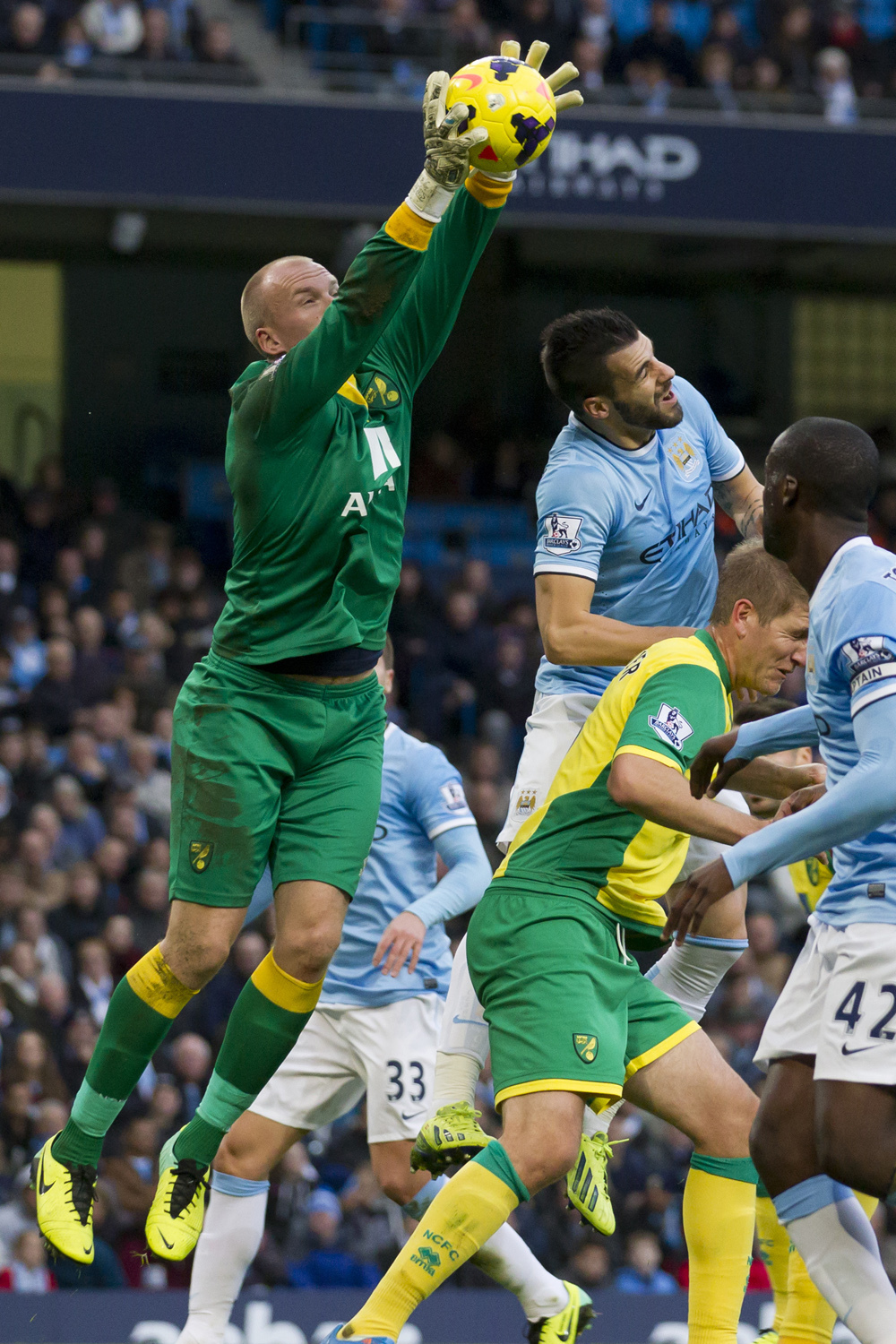 Manchester City 7, Norwich City 0