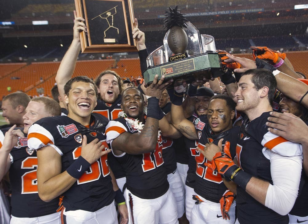 Hawaii Bowl: Oregon State 38, Boise State 23