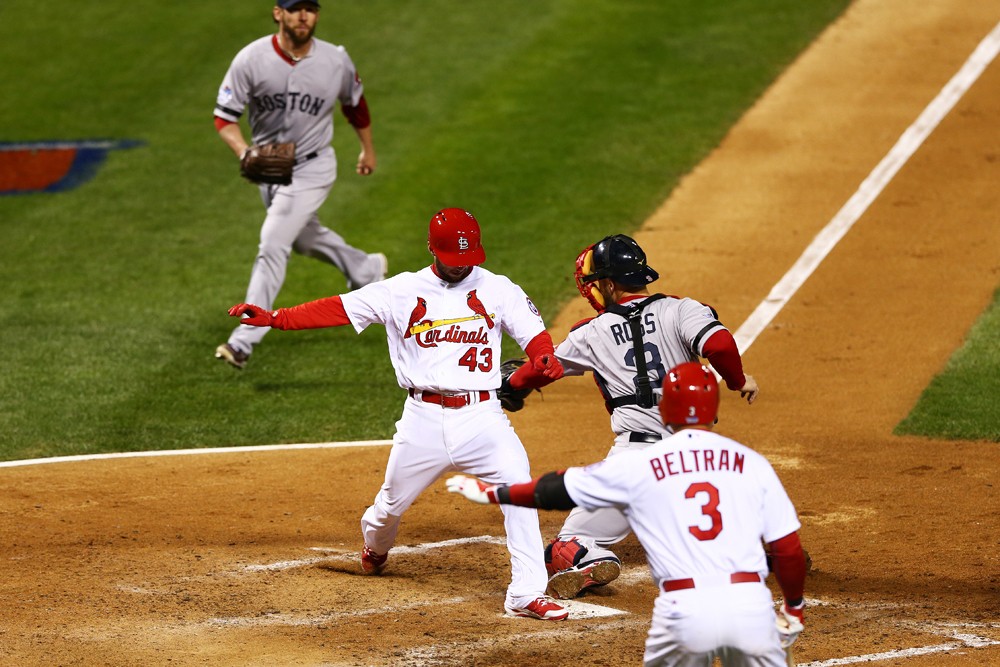 World Series Game 4: Red Sox 4, Cardinals 2