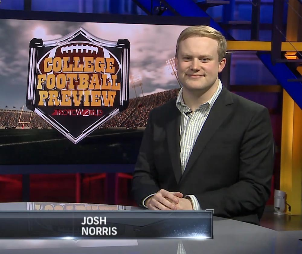 Josh Norris, Rotoworld NFL draft writer