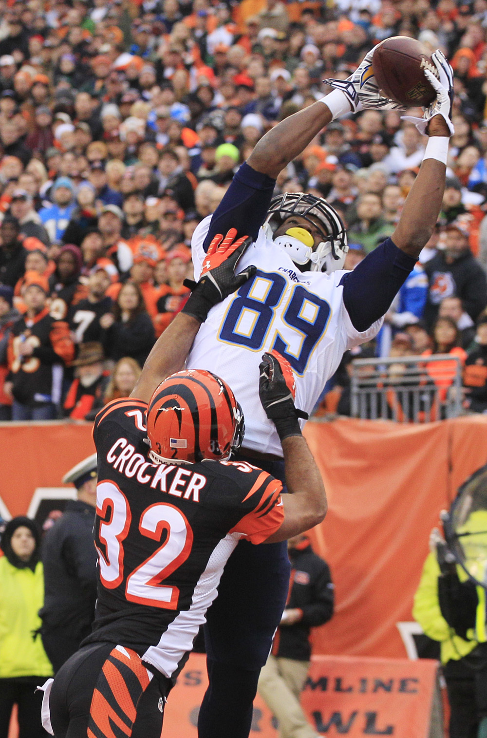 AFC Wild Card game: Chargers 27, Bengals 10