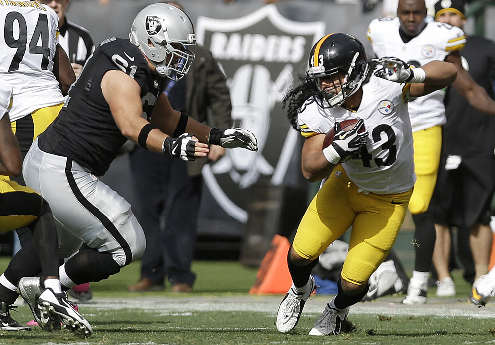 Raiders 21, Steelers 18