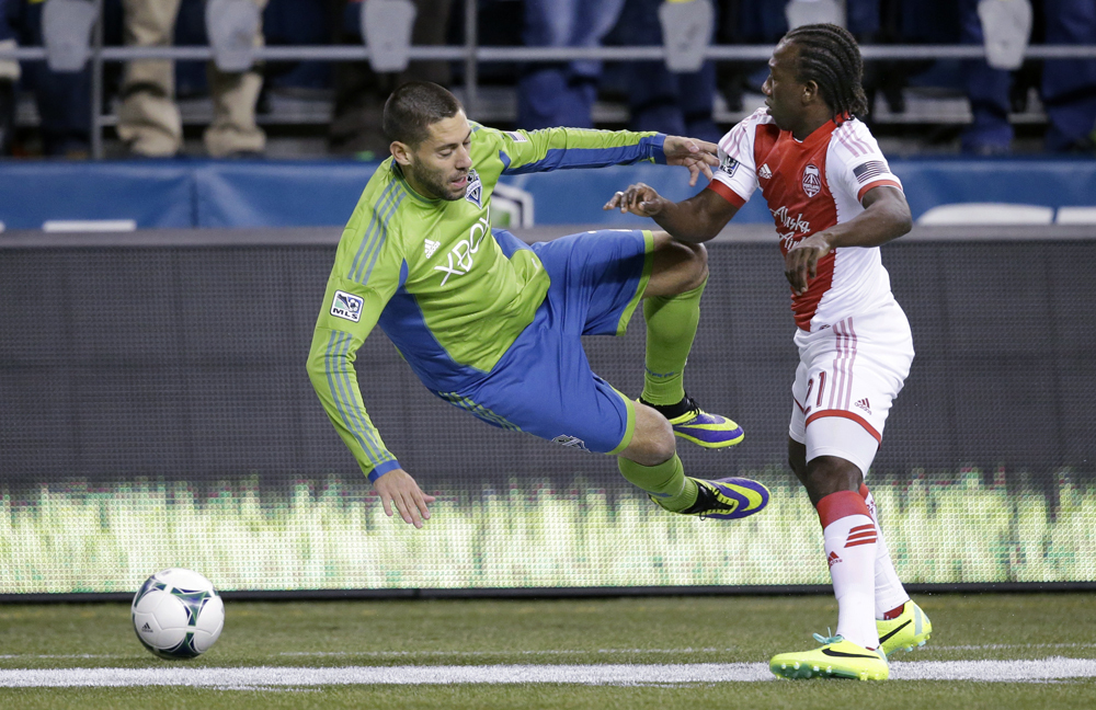 (1) Portland Timbers 2, (4) Seattle Sounders 1