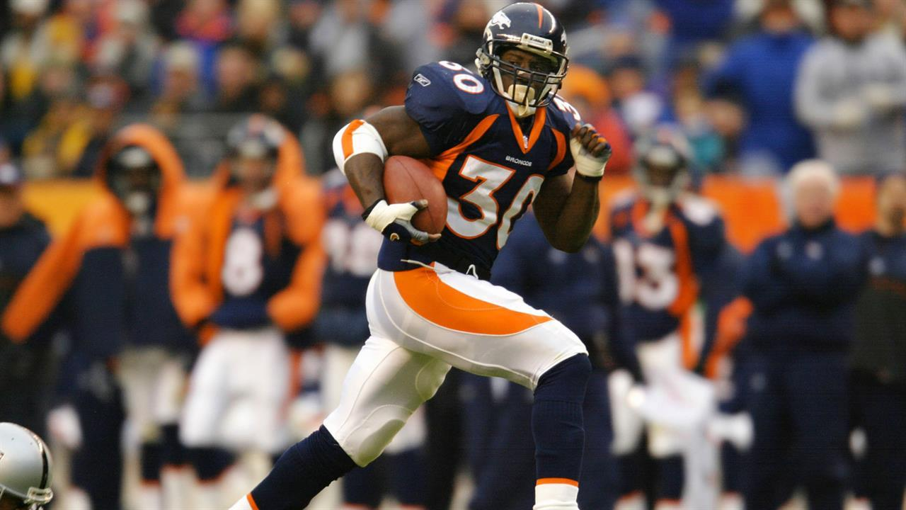 save off 9dd4d 95e03 Go-to RB? Terrell Davis chooses himself first