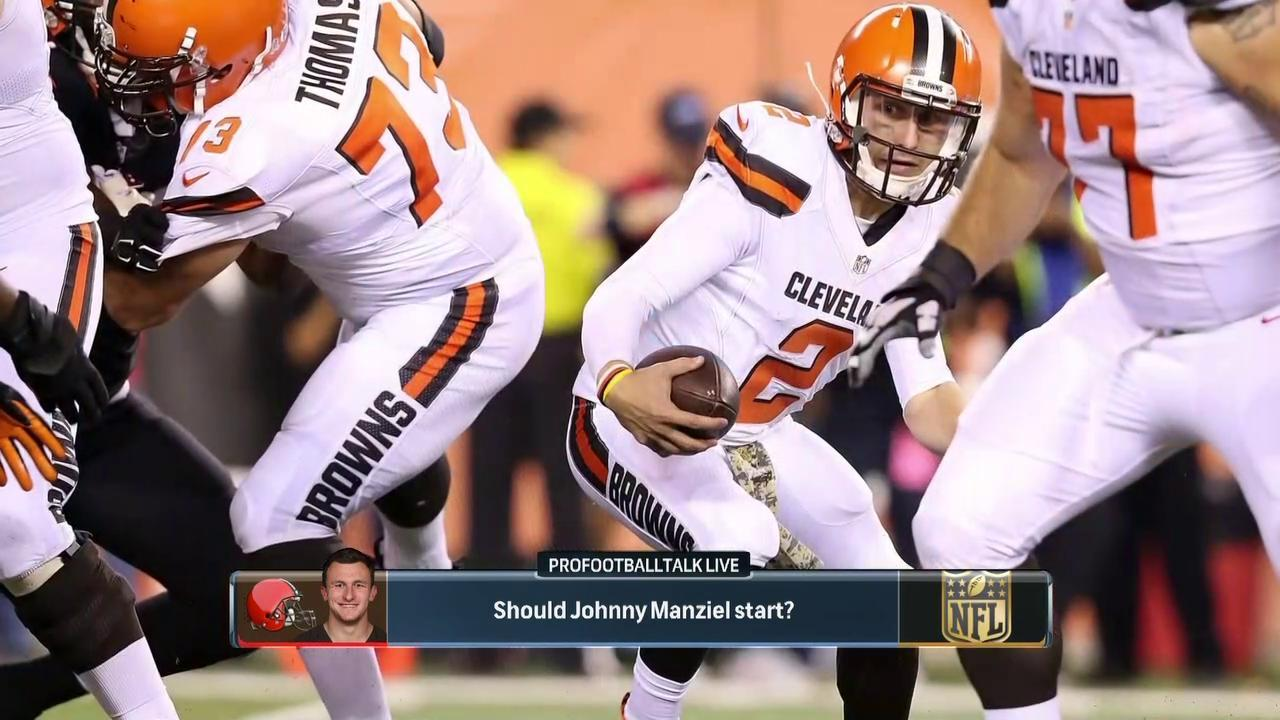5271d04acbc Should Cleveland Browns start Johnny Manziel for remainder of season