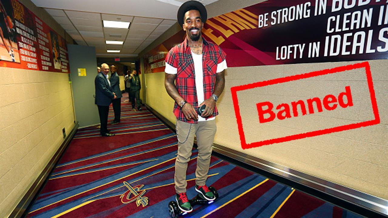 048592af1b7 Mad Dash  Cleveland Cavaliers ban hoverboards from locker room