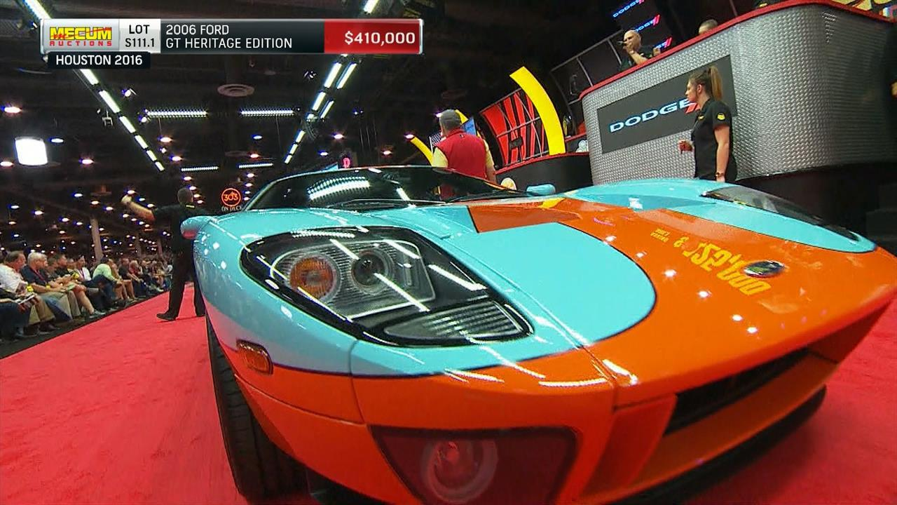 Mecum Auctions 2006 Ford Gt Heritage Edition Nbc Sports