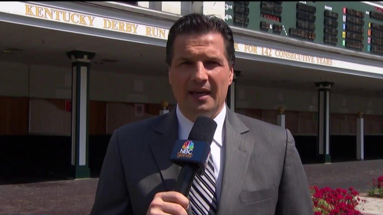 Eddie Olczyk on the hockey, Kentucky Derby connections | NBC Sports
