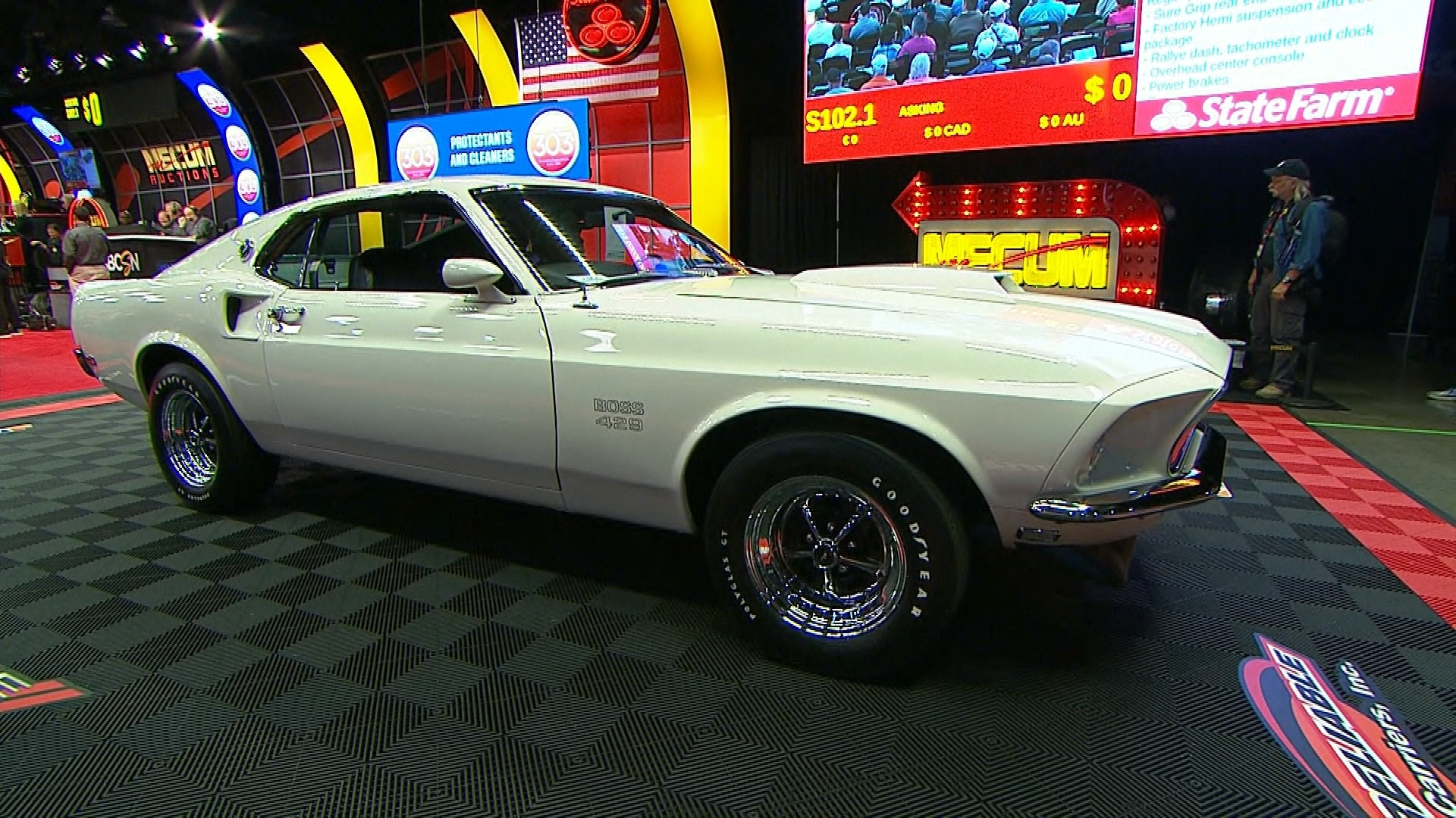 A 1969 Ford Mustang Boss 429 Goes For Big Bucks In Portland Nbc Sports 1954 Shelby