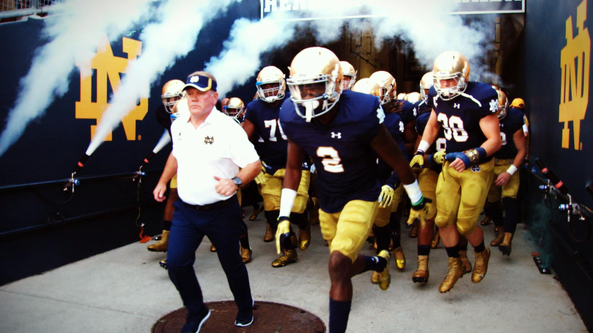 Behind The Irish What S It Like To Play For Notre Dame Nbc Sports