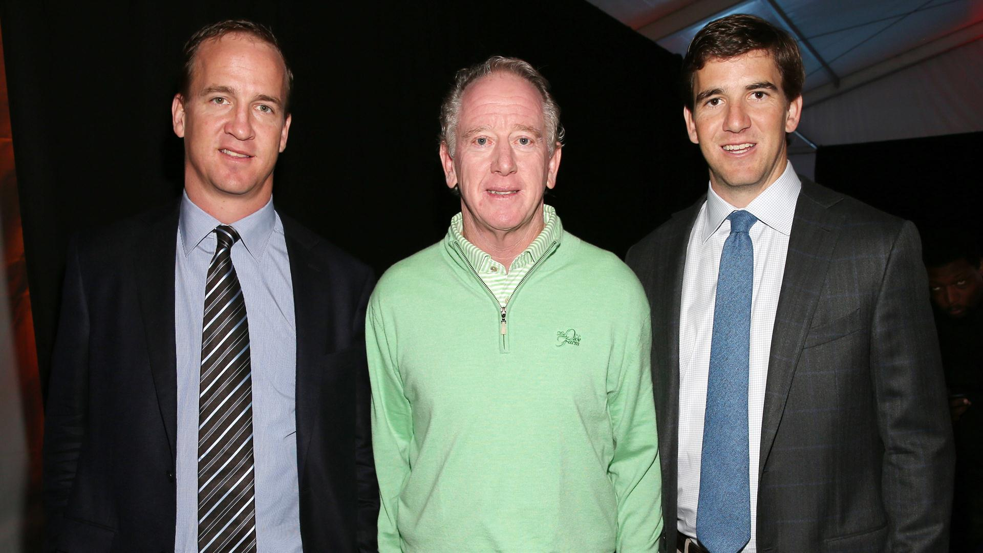 Archie, Eli and Peyton Manning among top NFL father-son combos