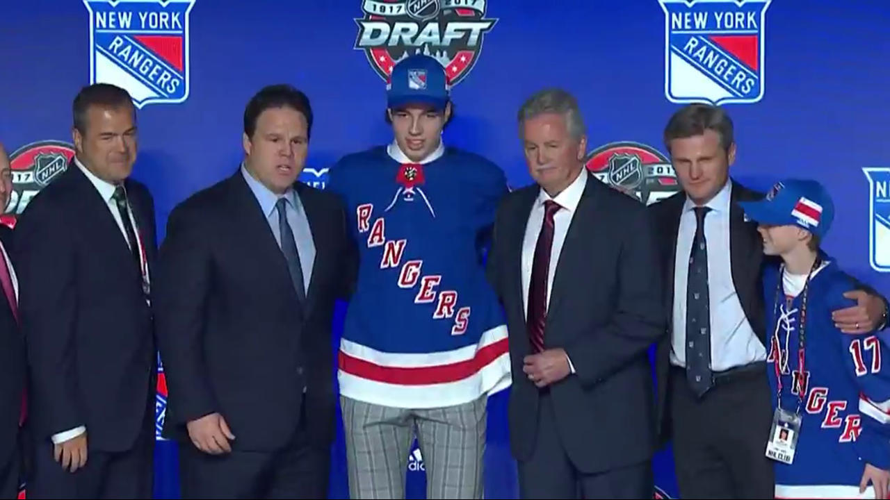 2017 NHL draft  New York Rangers select Filip Chytil with No. 21 pick  5cf21dec4