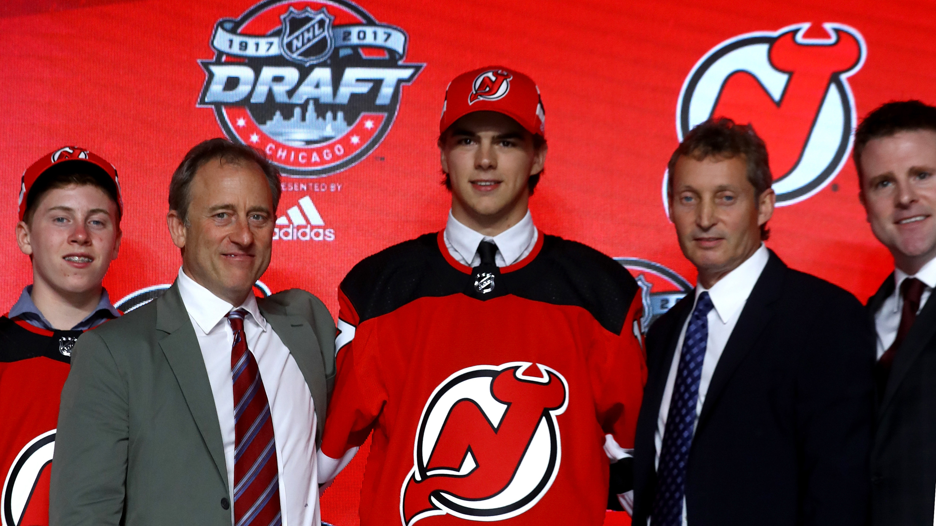 c8116a8a5 New Jersey Devils select Nico Hischier with No. 1 pick in 2017 NHL draft