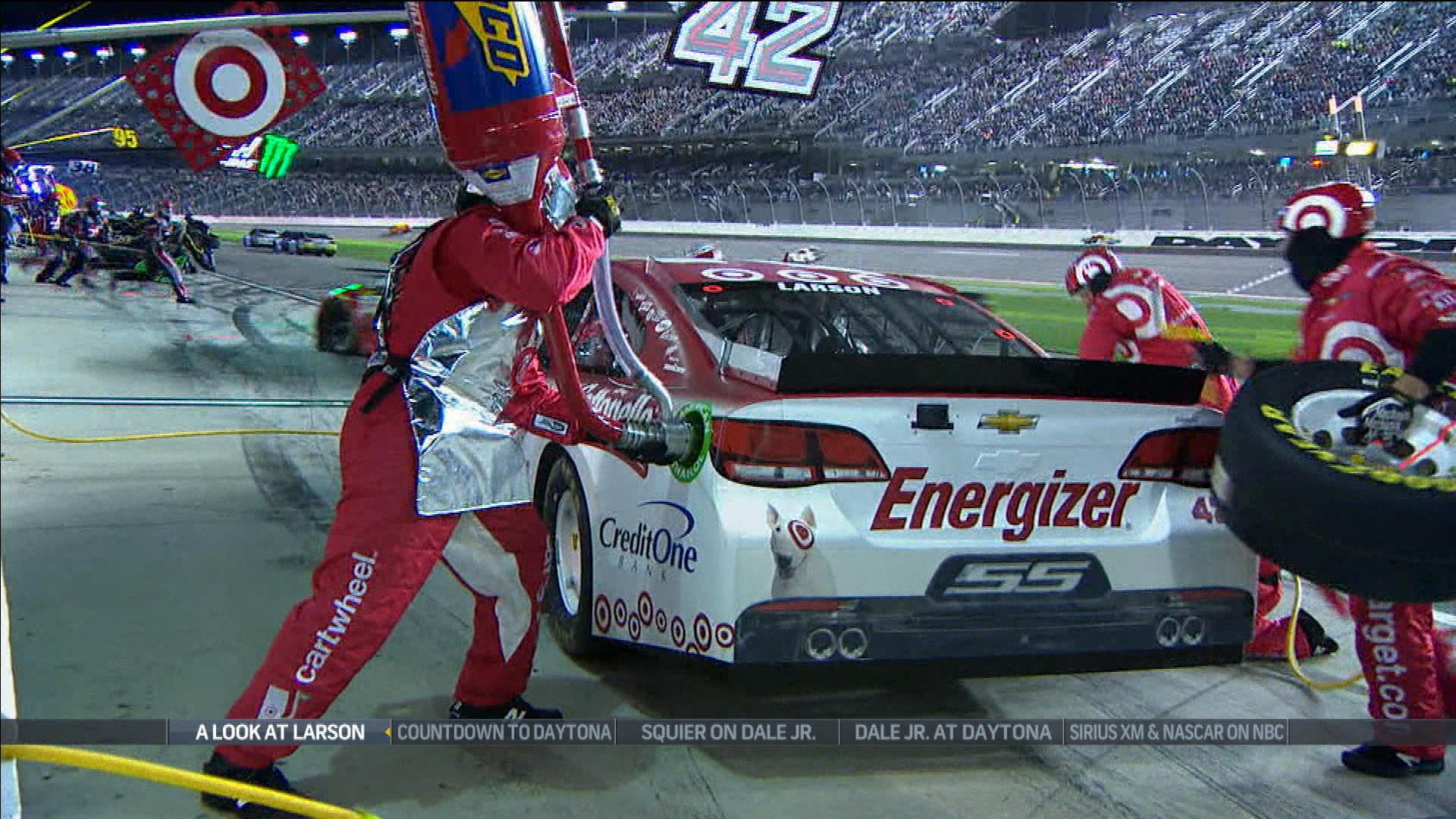 Kyle Larson Still Trying To Get Used Restrictor Plate Racing
