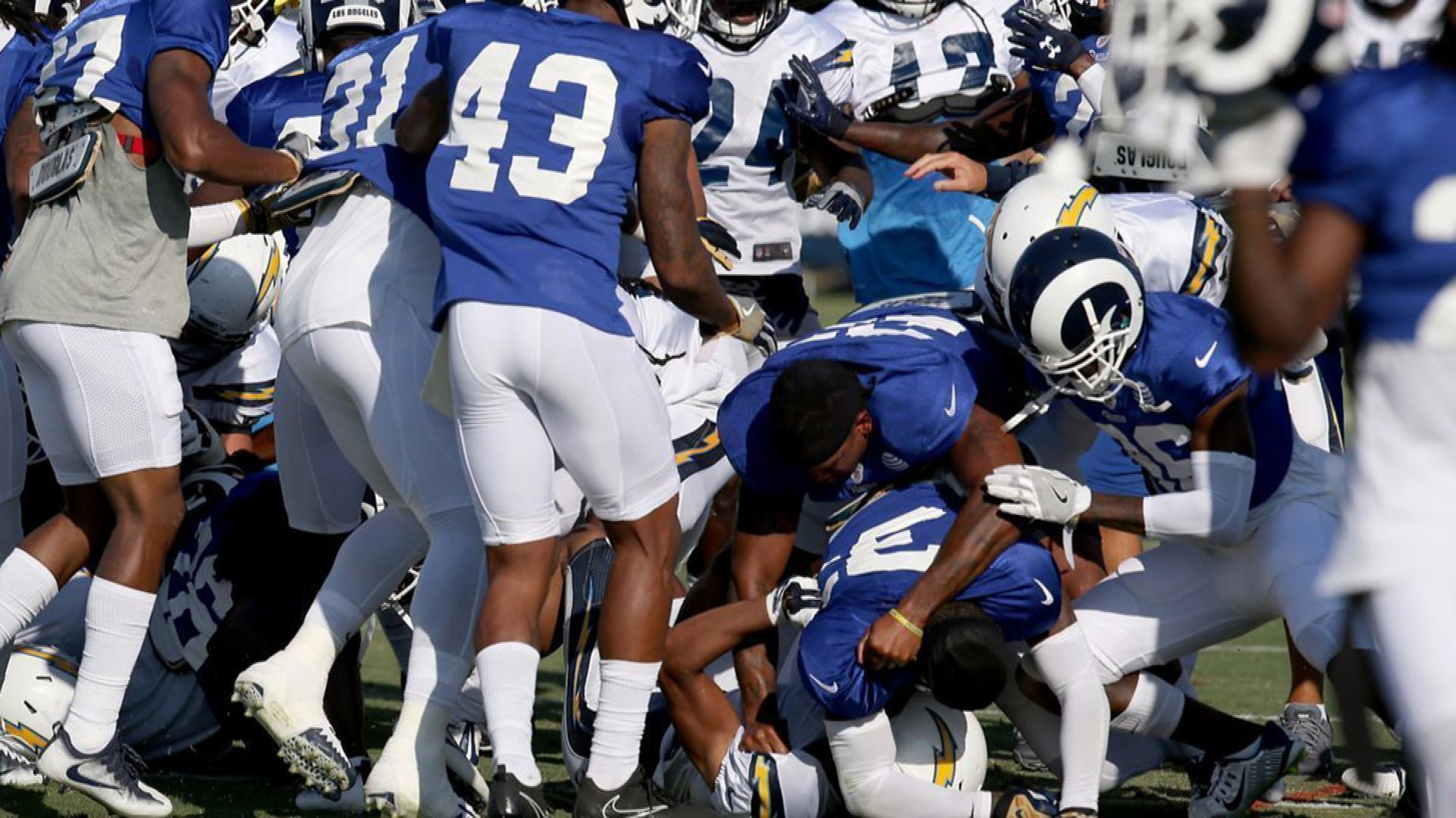 Fight for L.A. becomes literal as Rams 995fa9603