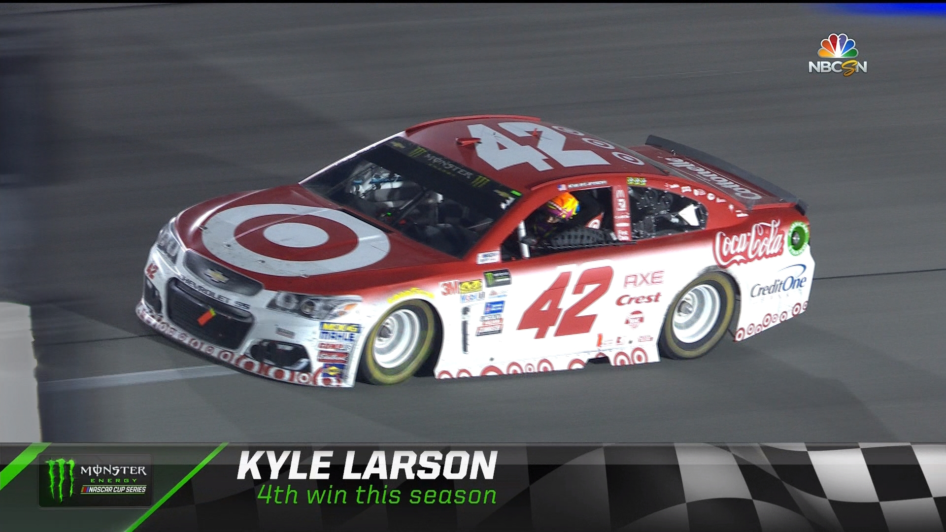 Kyle Larson Wins Federated Auto Parts 400 At Richmond