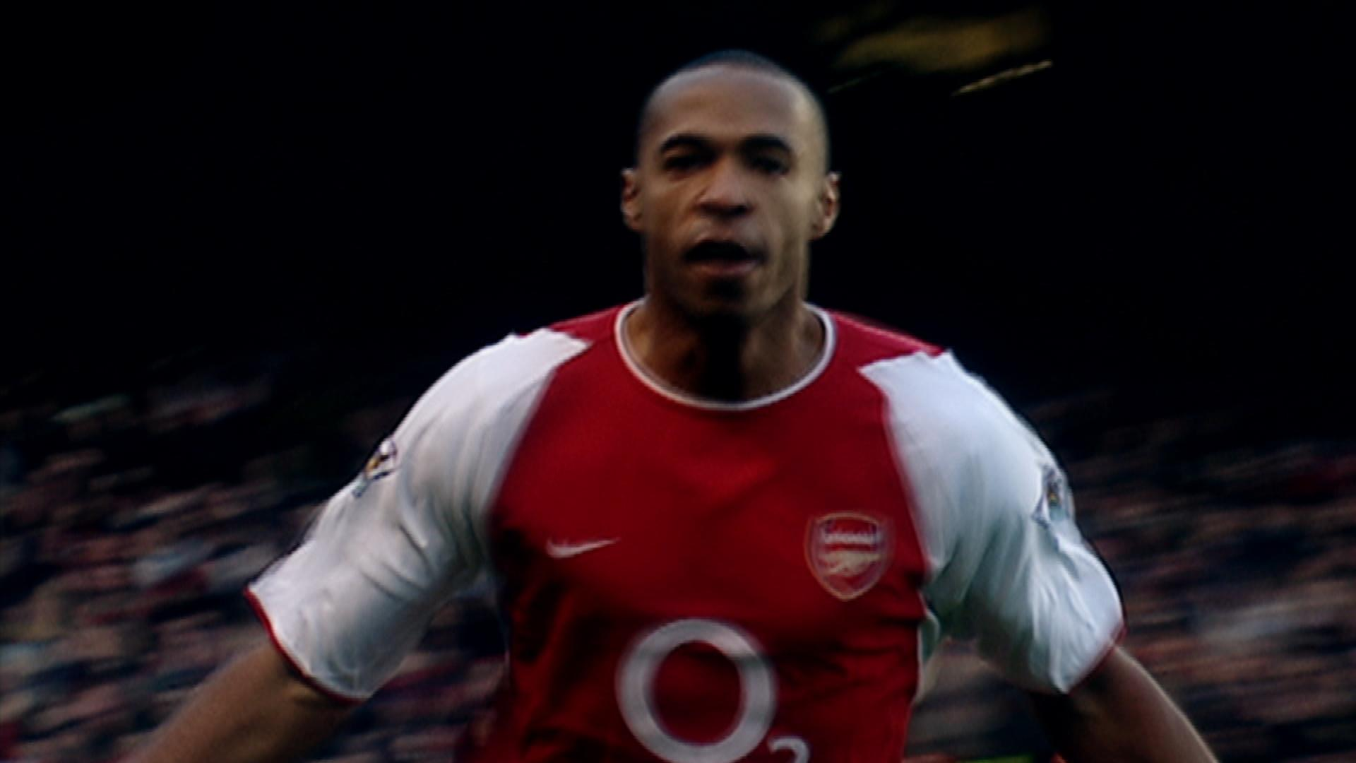 Arsenal s Thierry Henry scores solo goal against Tottenham in 2002