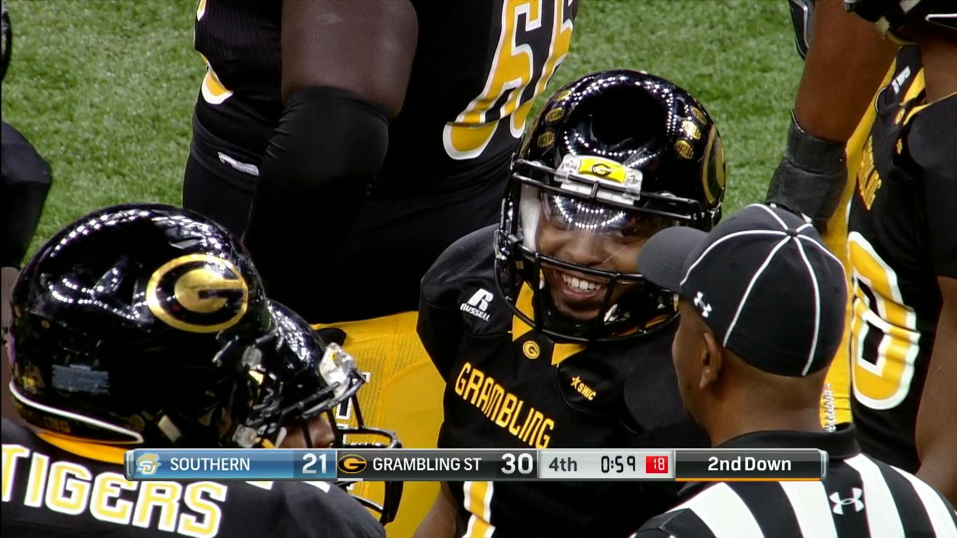the latest 277d7 4c5b8 Grambling State Tigers 30, Southern Jaguars 21 highlights ...