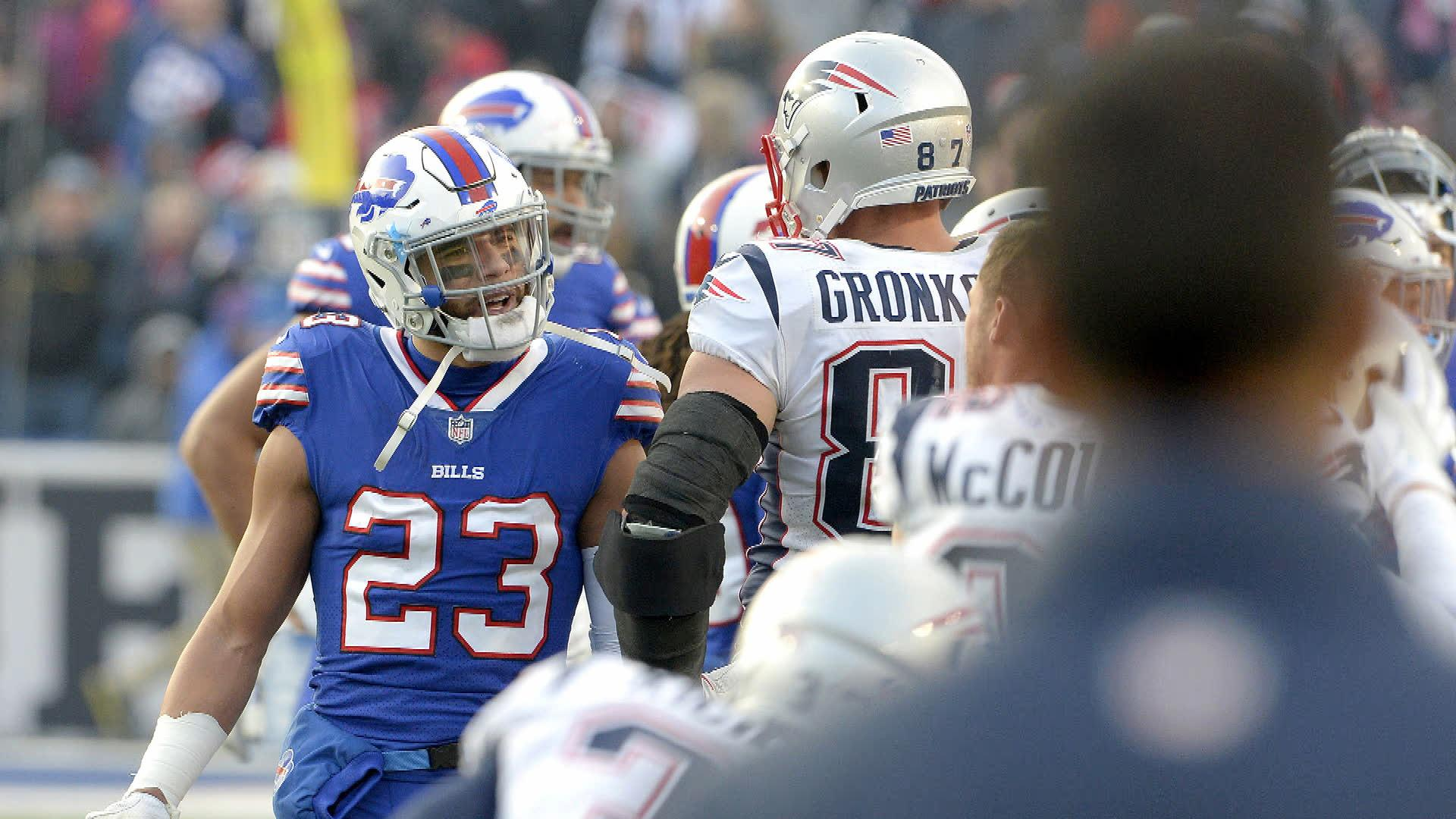fdff76e6ac7 Rob Gronkowski faces NFL suspension for vicious hit on Bills opponent