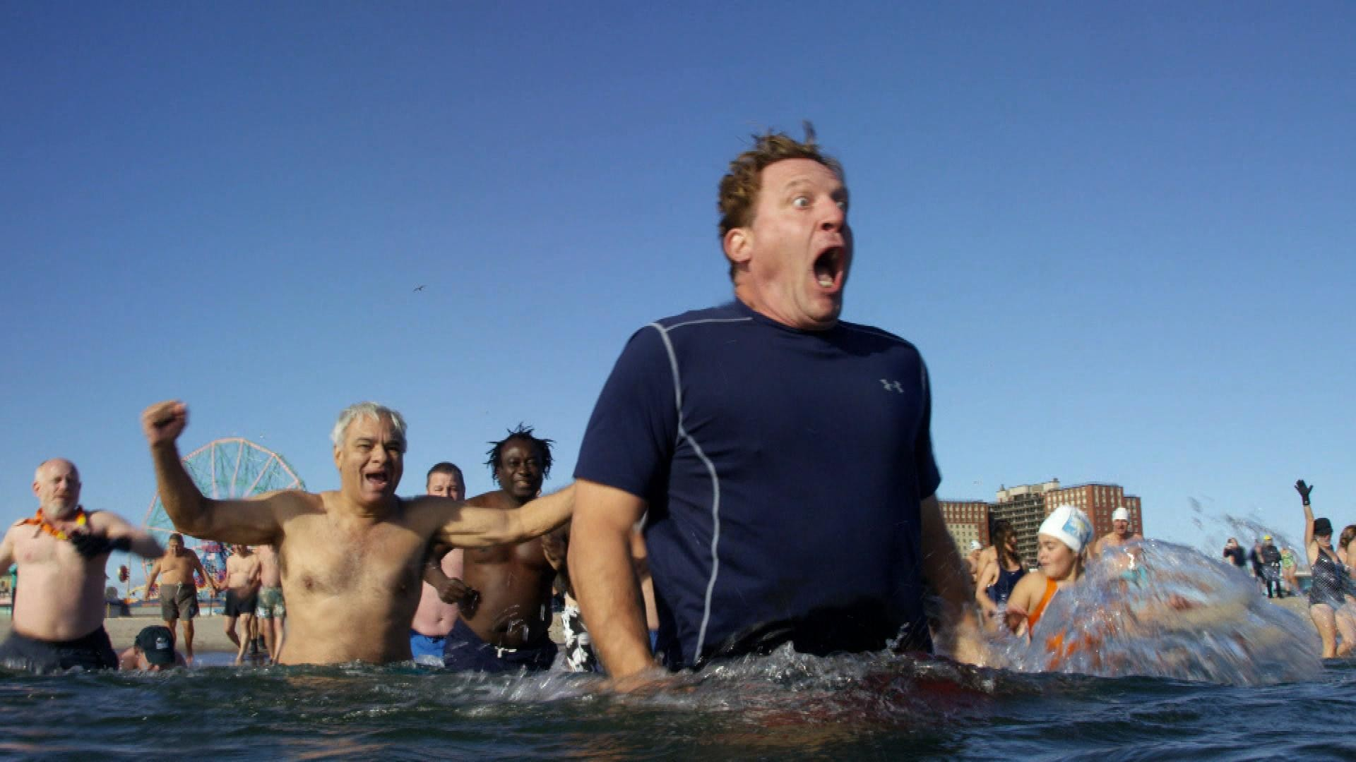 Winter Classic Polar Bear Plunge with Jeremy Roenick  961187725