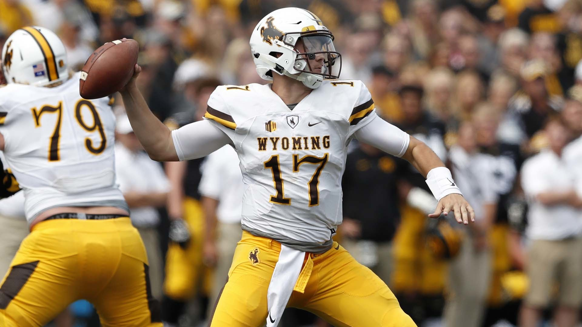 f5c62a03 2018 NFL Draft: Josh Allen could thrive with more high-percentage ...